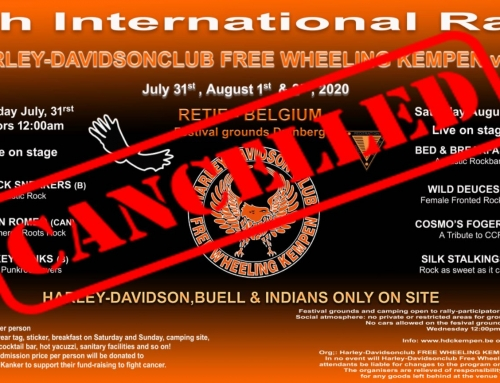 CANCELLED – RALLY 2020 – CANCELLED